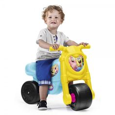 ¡Chollo! Correpasillos MOTOFEBER con diseño BOB ESPONJA por sólo 18,85 euros.