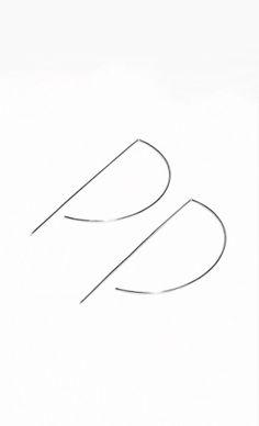 & Other Stories | Graphic Hoop Earrings