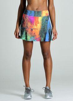 568221033a3e JoJo Skirt 2.0 (Pied) Active Wear For Women, Tennis Skirts, Tennis Clothes
