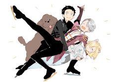 Yuri!!! On Ice (ユーリ!!! On ICE) - Yuri Katsuki, Viktor Nikiforov, Yuri Plisetsky