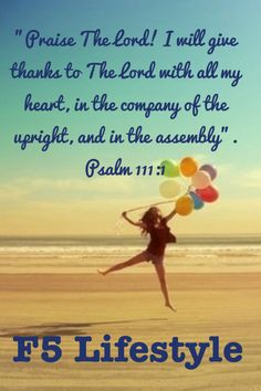 I will praise The Lord. It's a choice.