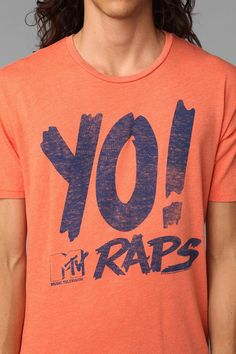 Junk Food Yo! MTV Raps Tee Online Only