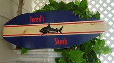 shark surf board  etsy $64