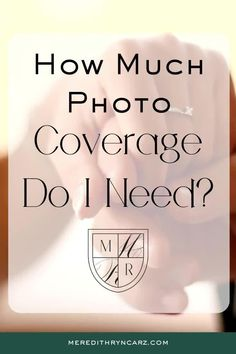 Figuring out how much wedding photography coverage you need is not as hard as it looks.  Meredith Ryncarz Photography breaks down how to calculate it. #destinationwedding #filmphotographer