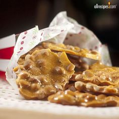 "Mom's Best Peanut Brittle | ""I'd give this ten stars if I could! I made many batches of this and gave out for Christmas gifts and received RAVE reviews."""