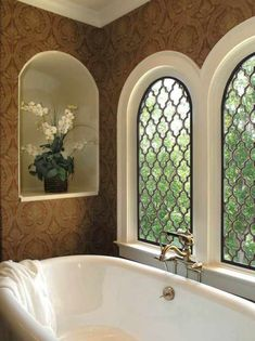 Beautiful examples of Tableaux Decorative Grilles home decor projects & applications Window Grill Design Modern, Window Design, Modern Interior Design, Door Design, House Design, Iron Windows, Arched Windows, Windows And Doors, Iron Window Grill
