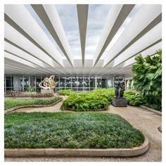 """styletaboo: """"Oscar Niemeyer - Palácio do Itamaraty [Brasilia, 1970] """""""