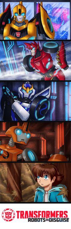 .: Transformers: Robots in Disguise 2015 :. by AquariaSC.deviantart.com on @deviantART