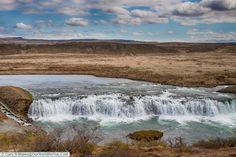 The Faxi waterfall on the Golden Circle, Iceland