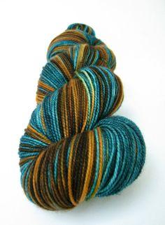 Hand Dyed Yarn Superwash Merino Classic Sock by SunriseFiberCo, $21.00