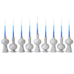 Can you imagine how much fun Chanukah would be with this menorah?