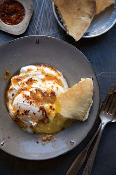 Cilbir (Turkish Poached Eggs in Yogurt) | SAVEUR