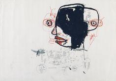 * Jean-Michel Basquiat, Sans titre, 1985, FRAC Picardie