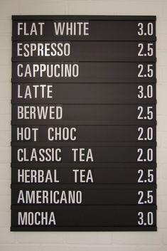 5 Passionate Tricks: Coffee Barista Cocoa coffee benefits how to make. Menu Board Design, Menu Design, Cafe Design, Coffee Shop Menu, Coffee Shop Design, Industrial Coffee Shop, Cafe Menu Boards, Coffee Food Truck, Coffee Girl