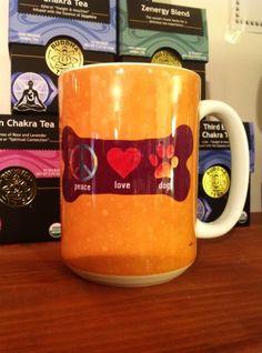 Ceramic Mug – Peace Love Dog
