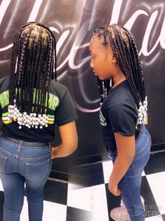 Little Girls Natural Hairstyles, Toddler Braided Hairstyles, Cute Little Girl Hairstyles, Natural Hairstyles For Kids, Baby Girl Hairstyles, Braids For Kids, Girls Braids, Little Girl Box Braids, Braid Styles For Girls