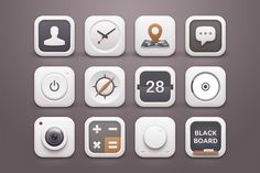 Ad: White Winter Icons by Sunbzy on When the winter season is coming, I think white colour and it's Toasted Marshmallows. It's give feeling warm. I just feel like draw icons Icon Design, Web Design, Graphic Design, Business Brochure, Business Card Logo, Launcher Icon, Mobile Icon, Mobile Ui, Icon Png