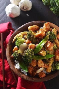 ... chicken and broccoli in garlic sauce chicken and broccoli in garlic