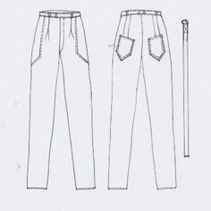 MERAKI Project Iceland // FW2015 // Lava Rock (pants)