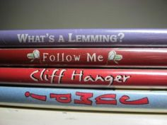 Just may have to do this with my students!  Poetry with book titles!