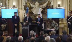 """Vidal suscribió el """"Compromiso Federal para la Modernización del Estado"""""""