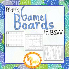Here 39 s a set of editable snakes and ladders boards for for Blank task card template