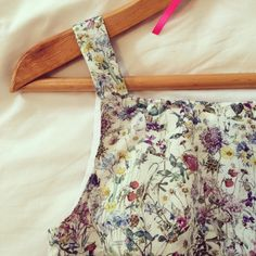 Wild Flora Bodice - By Hand London Flora pattern and Liberty Print Wild Flowers Liberty Fabric, Liberty Print, By Hand London, Flora Pattern, Flora Dress, Dressmaking, Wild Flowers, Creative Ideas, Day