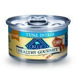 Blue Buffalo Healthy Gourmet Canned Cat Food Flaked Tuna Entre Pack of 24 3Ounce Cans -- Click image to review more details.