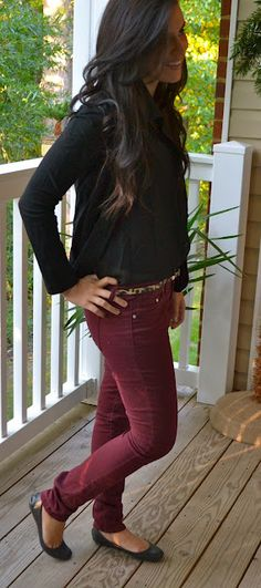 Burgundy and Leopard! Compliments of Christine Marie