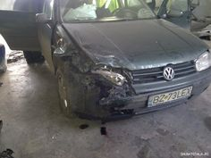 VW Golf 4 avariat 2013