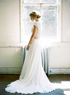 Fresh and minimalist spring wedding inspiration