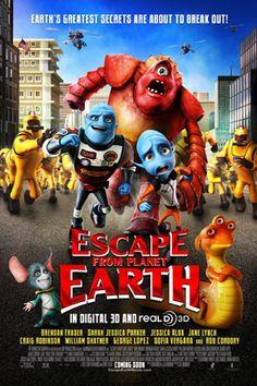 Đào Tẩu Khỏi Trái Đất - Escape from Planet Earth - 2013