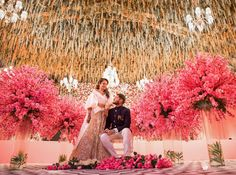 Take inspiration from the best of wedding decor 2019 which we spotted at Indian weddings. Wedding decorations and trends at Indian weddings. Beach Wedding Setup, Destination Wedding Decor, Summer Wedding Decorations, Wedding Set Up, Rose Wedding, Wedding Ceremony, Wedding Flowers, Wedding Planning, Wedding Ideas