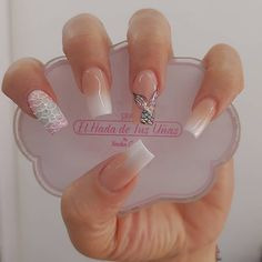 Leave everything in my hands and let yourself be wrapped with our magic only here for appointments at 📲 Go ahead 💅💓😍 # elhadadetusuñas nails # nailsmedellin nails nails nails nails nails nails nails nails # Classy Nails, Fancy Nails, Stylish Nails, Pink Nails, Cute Nails, Gel Nails, Diy Acrylic Nails, Summer Acrylic Nails, Cute Acrylic Nail Designs