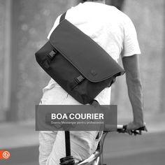 BOOQ BOA FLOW - geanta messenger all-black de la booq COMANDA ACUM --> http://ift.tt/1p4rq8m