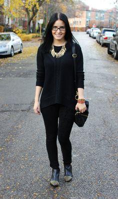 #fashion #fashionista Thorunn D O U B L E - P I Z Z A Z Z: dark daze