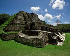 Altun Ha, Belize - Is a lovely place. I climbed to the top of this ruin! It was hard work but well worth the view!