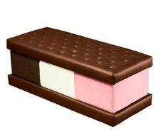 ice cream sandwich furniture. ice cream sandwich neapolitan ottoman by rolf vetter furniture e