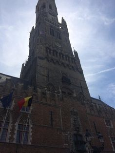 Northern Europe Tour June 2014 - Tower of Liberty at the market square, Bruges