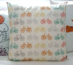 Custom order - bicycle cushion cover (message us on Facebook if you have a custom order request)