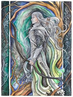Beleg the Archer by jankolas on DeviantArt - Beleg Cúthalion was one of the great captains of the Sindar who served King Elu Thingol of Doriath. He was considered to be the best archer and huntsman of his time.