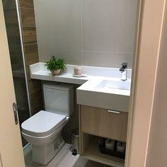 Bathroom Furniture, Bathroom Interior, Wall Shelf Unit, Basement Makeover, Bathroom Design Small, Home Office Design, Bathroom Renovations, Amazing Bathrooms, New Homes