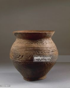 Prehistory, Italy, Iron Age. Golasecca culture. Vase decorated with... Pictures | Getty Images