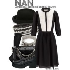 """""""American Horror Story: Coven"""" by wearwhatyouwatch on Polyvore"""