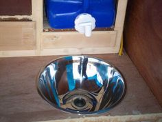 Water jug sink (includes how-to)