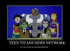 Teen Titans News Network by AbbyGaby005.deviantart.com on @deviantART