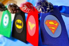 Superhero Valentines...guess I know what my son's class can expect this year:-)