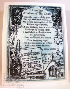 Simply Southern Sandee: The Windows of Thy Grace