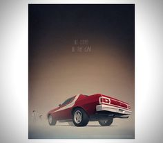 Famous Movie Cars by Nicolas Bannister 5