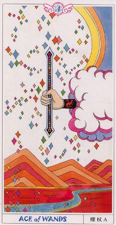 Ace of wands Elf of Heaven